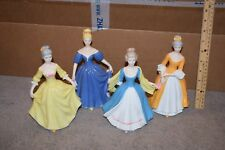 Schmid Hand Painted Set of 4 Figurines Meg Amy Beth Ester - Little Women?