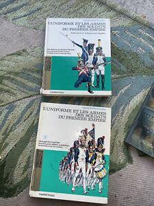 l'uniforme et les armes des soldats du premier empire book 1 & 2 Funcken