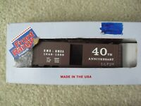 Vintage HO Scale Front Range Rocky Mountain RMR Anniversary Box Car Kit in Box