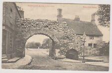 Lincolnshire postcard - Newport Arch, Lincoln - P/U 1905 (A265)