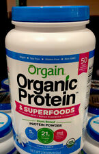 Orgain Organic Plant Protein and Superfoods Powder