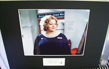 HATTIE JACQUES CARRY ON LEGEND TOP QUALITY SIGNED AUTOGRAPH CUT DISPLAY UACC