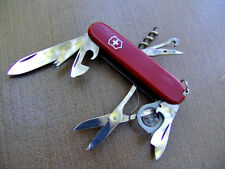 VICTORINOX EXPLORER-WIDE FRAME MAGNIFIER-RED-SWISS ARMY KNIFE-SCOUTING-HUNTING
