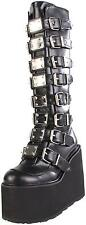 Pleaser Swing 815 Demonia Pleaser Sinister Gothic Punk Rock Boots Size 7