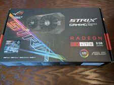 ASUS ROG Strix Radeon Rx 470 8GB GDDR5 Graphics Card