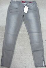 Lucky Brand Womens Size 4/27 Charlie Super Skinny Tripple Zip Jean 7WD10041 Gray