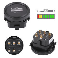 12V/24V/36V/48V/72V DC LED Battery State of Charge Indicator Meter For Golf Cart