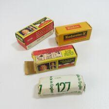 Vintage Lot of 3 Sealed Film Kodak Kodachrome CX127 Expired 620 Color 1970
