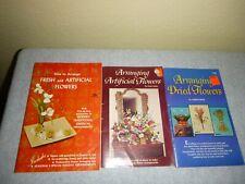 Vintage Arranging Dried Flowers/ Artificial Flowers/ Fresh Flowers Books