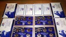 four (4) 2003 Us Mint Quarter Proof Sets