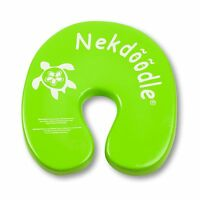 Nekdoodle Aquatic Flotation Device Swimming Pool Float Toy Lime Green Sea Turtle