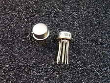 Lm207h operational Amplifier opamp metal can to-5 National Semiconductor