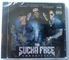 "DLK Enterprise ""Tha Sucka Free Chronicles"" Telly Mac, Bay area rap CD /NEW 2019"