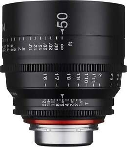 50mm T1.5 XEEN Nikon Full Frame Cinema Lens
