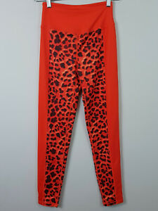 LUXE PALM   Womens Leopard Print Panelled Leggings NEW [ Size AU 8 or US 4 ]