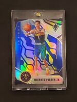 2018-19 PANINI CHRONICLES MICHAEL PORTER JR #599 PHOENIX  RC BLUE PRIZM 25/99