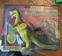 MOC 1996 Imperial Jurrasic Collection Roaring Tyrannosautus W/ Light Up Eyes