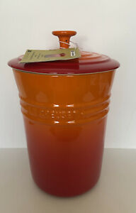 Le Creuset Stoneware 4.9L XXL Large Canister -Volcanic  (New)