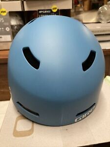 ! Giro Ledge MIPS Womens Medium Snowboard Ski Helmet Matte Powder Blue