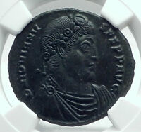 JOVIAN Authentic Ancient 363AD Thessalonica AE1 Genuine Roman Coin NGC i78520