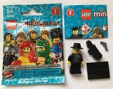 LEGO Collectible Minifigure 8805 Series 5 GANGSTER GODFATHER MAFIA VIOLIN CASE