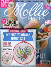 Mollie Makes Magazine Issue 76 - Free Scandi Florals Hppo Kit