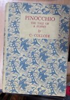 Pinocchio The tale of A Puppet by C. Collodi illustrated by Charles Folkard Hard