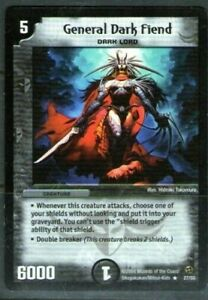 Duel Masters. General Dark Fiend 27/55. 2004 Wizards of the Coast.