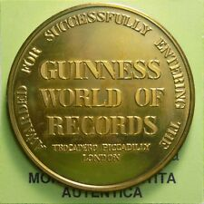 NF* Medaglia Medal Medaille- Guinness Records Trocadero Piccadilly London §284.3