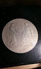 MEDAILLE ARGENT massif exposition universelle 1900 monnaie de paris A.PATEY M40