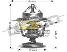 DAYCO Thermostat 82C FOR Alfa Romeo 164 5/91-12/92 3L V6 12V EFI 145kW AR064301
