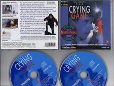 THE CRYING GAME Neil Jordon  1993 POLYGRAM DOUBLE VIDEO-CD -DVD