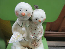 """Nicol Sayre """"Winter Friends"""" Midwest of Cannon Falls Christmas Box snowman 2004"""
