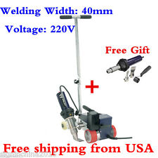 USA Stock! 220V Weldy Roofer RW3400 Hot Air Welder 40mm Nozzle +GIFT FREE GUN