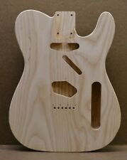 MADE TO ORDER T-Style Unfinished Guitar Body Ash Fits Telecaster Tele Neck