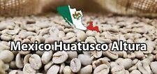 5 Lb MEXICAN MEXICO HUATUSCO ALTURA GREEN UNROASTED COFFEE BEANS - ARABICA
