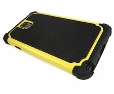 """Yellow/Black Defender Heavy Duty Protective Case Cover Apple iPhone 6 4.7"""""""