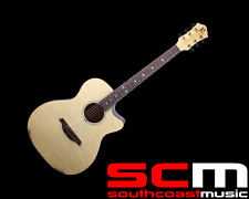 BC RICH AC/EL ACOUSTIC ELECTRIC GUITAR NATURAL BCR3N ACOUSTIC GUITAR