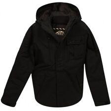 Vans Homme Pearson hiver chaud à capuche à fermeture à glissière doublure Manteau Noir XL