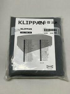 Ikea KLIPPAN loveseat sofa COVER ONLY, vissle gray - NEW