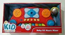 Baby DJ Music Mixer New Toy Kid Connection Sound Effects LIghts   New  12m+