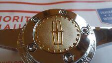 Lincoln Zenith Dayton Wire Wheel 2.25 Metal Chip Emblems Gold