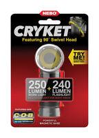 Nebo  Cryket  240 lumens Black  LED  COB Flashlight  AAA Battery