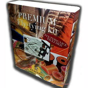 Veniard Premium Fly Tying Kit - Brand New & Updated