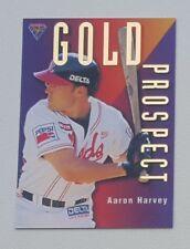 1996 Futera ABL Australian Baseball Gold Prospect #GP1 Aaron Harvey