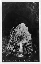 (512) Postcard of Lava Tube Hawaii National Park