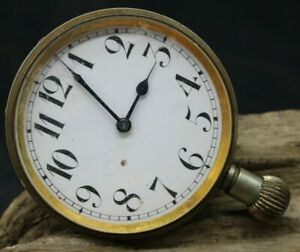 Doxa Automobile Antique 1900's Swiss UNIQUE Original Amazing Huge Watch (O3T2)