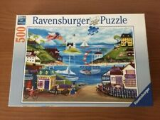 Ravensburger Lovely Seaside 500 Piece Jigsaw Puzzle Complete Excellent Condition