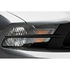 For Ford Mustang 10-12 3d Carbon Headlight Splitters Unpainted