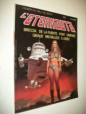 L'ETERNAUTA:N.53 FUMETTI PIù BELLI DEL MONDO E.P.C.DICEMBRE 1986 GIRAUDLOPEZ!